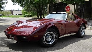 1975 Chevrolet Corvette Stock # 727-DET
