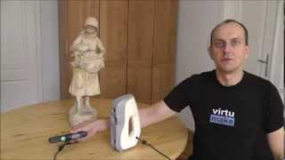 getlinkyoutube.com-3D Scan - Professional vs Hobby - Artec Eva, Carmine 1.09