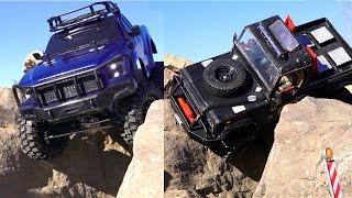 getlinkyoutube.com-RC ADVENTURES - Tips & Tricks - Crawlers: Heavy Truck Vs Light Truck - Hard Body vs Lexan Body