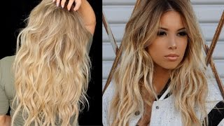 getlinkyoutube.com-BIG Sexy Messy Waves Tutorial with extensions | LustreLux