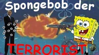 getlinkyoutube.com-Spongebob VERARSCHE - Spongebob der TERRORIST?!
