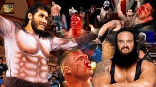 getlinkyoutube.com-Top 10 Monsters Scariest Strongest Tallest Heaviest WWE/WWF History Wrestlers in the World 2016