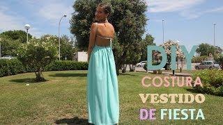 getlinkyoutube.com-DIY costura como hacer vestido de fiesta (patrones o moldes gratis)