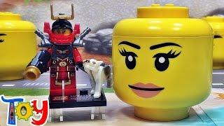 getlinkyoutube.com-sy 닌자고 사무라이 니야 리부티드 미니피겨와 미니블럭보관함 레고 짝퉁 구입 리뷰 lego knockoff ninjago nya samurai