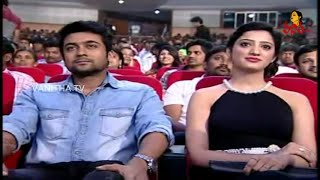 getlinkyoutube.com-Hero Surya Enjoying Seeing Magic Show By Magician Ali At Surya's Memu Movie Audio Launch