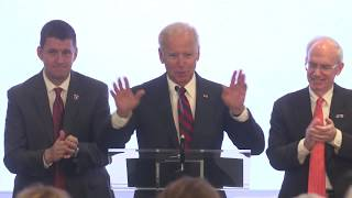 Former Vice President Joe Biden Gives Keynote Speech - Fred & Pamela Buffett Cancer Center