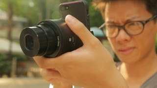 getlinkyoutube.com-Sony QX100 Hands-on Review