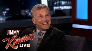 getlinkyoutube.com-Christoph Waltz on His Friendship with Quentin Tarantino