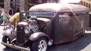"1932 North Carolina Prison Bus ""NC Rat Rod Prison Bus"""