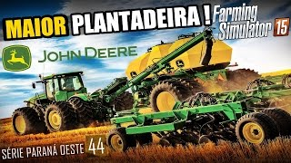 getlinkyoutube.com-Plantadeira Gigante - Farming Simulator 2015 Multiplayer