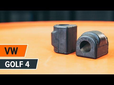 Comment remplacer des silent bloc de barre stabilisatrice avant sur une VW GOLF 4