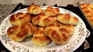 getlinkyoutube.com-لفة الخميره Sweet Dinner Rolls .......Linda S kitchen مطبخ ليندا