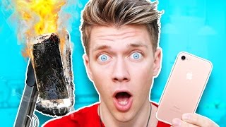 Do NOT Boil iPhone 7 in Coca Cola! (IT EXPLODES!!!)