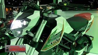 getlinkyoutube.com-Benelli TNT135 vs GPX Demon 125  ท้าชน MSX125SF Z125 VTR125