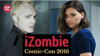 SDCC 2016: David Anders e Aly Michalka de iZombie
