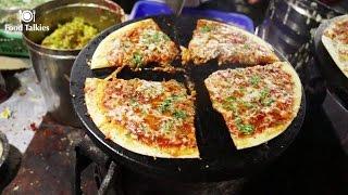 Indian Street Food - Street Food in Mumbai - Pizza Dosa