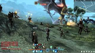 getlinkyoutube.com-Bless Online World Boss Battle From Night to Noon 2k