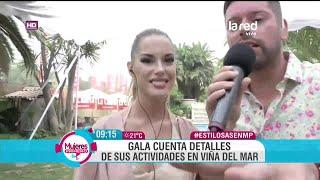 getlinkyoutube.com-Los detalles de la agenda festivalera de nuestra simpática candidata Gala Caldirola