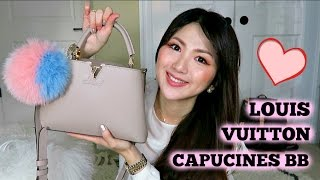 What's in my Bag? [LV CAPUCINES BB] OVERVIEW + Q&A