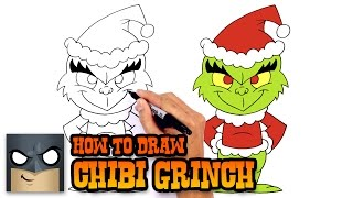 getlinkyoutube.com-How to Draw Grinch | Holiday Drawing Lesson