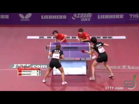 2013 World Table Tennis Championships: Liu Shiwen/Ding Ning vs Chen Meng/Zhu Yuling