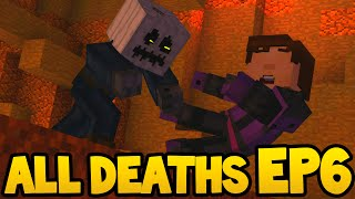 Minecraft Story Mode - ALL DEATH SCENES! - Episode 6
