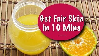 Get Spotless & Fair Skin In 10 Minutes - Magical Skin Whitening Face & Body Orange Scrub