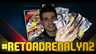 getlinkyoutube.com-Pack opening Adrenalyn XL 2016 Liga BBVA | MESSI BALÓN DE ORO