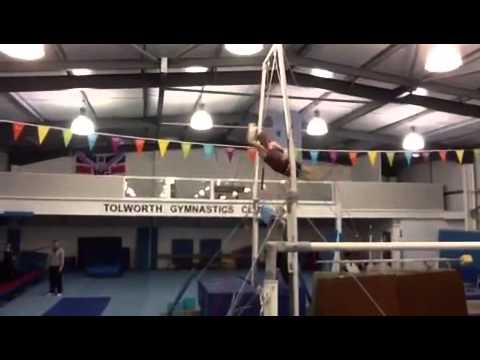 Kieran Behan - Liukin on High Bar