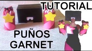 getlinkyoutube.com-Cómo hacer los puños de Garnet + Peluca + Gafas - Tutorial Steven Universe