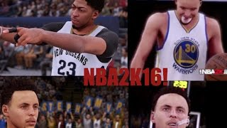 getlinkyoutube.com-NBA 2K16 Vs NBA2K15 -Graphics/Player Comparison - Very First Gameplay Of NBA2K16!! -