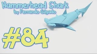 getlinkyoutube.com-Origami Hammerhead SHARK - Yakomoga Origami tutorial
