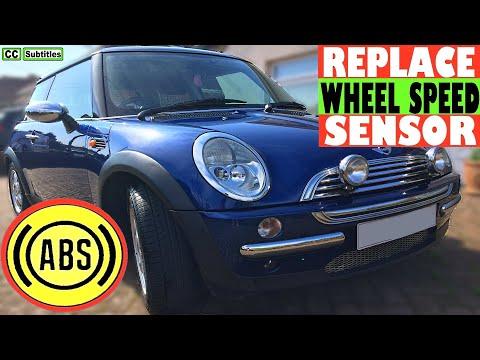Mini ABS Wheel Speed Sensor Replace - How to replace ABS Wheel Speed Sensor on Mini R50 R53