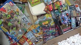 getlinkyoutube.com-타오바오 쇼핑몰에서 도착한 닌자고,테크닉,미니피규어 중국 짝퉁 블럭 장난감 제품들 소개