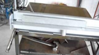 getlinkyoutube.com-CREAMEX JRJ    dobladora de lamina manual