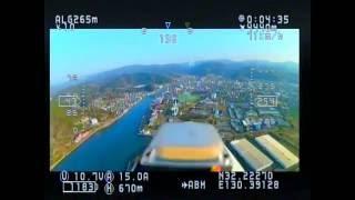 getlinkyoutube.com-FPV飛行機のゴーグルから見た映像です