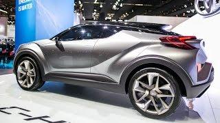 getlinkyoutube.com-Toyota C-HR Concept - 2015 Frankfurt Motor Show