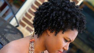 getlinkyoutube.com-Natural Hair | 4C Heatless Coily Perm Rod Set Tutorial