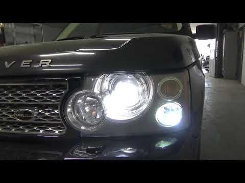 Исправляем свет на Land Rover Range Rover III -BI LED вместо BI XENON
