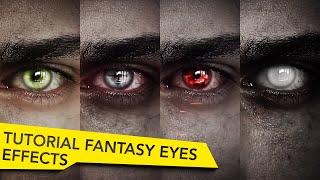 getlinkyoutube.com-After Effects Fantasy Eyes Tutorial   Elf, Witcher, Vampire, Undead