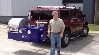 getlinkyoutube.com-Ultimate Tailgating Grill - Stereo Cooler Draft Beer & Grill
