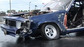 getlinkyoutube.com-Drag Cars Gone WILD!!! Crashes & Wheelstands
