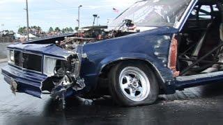 Drag Cars Gone WILD!!! Crashes & Wheelstands
