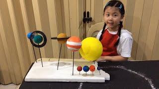 getlinkyoutube.com-The Solar System 3D Model