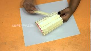 getlinkyoutube.com-How to Make a Popsicle Cloth Holder