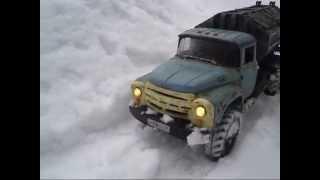 getlinkyoutube.com-Rc Truck Trial. Zil 130 and Gaz 66