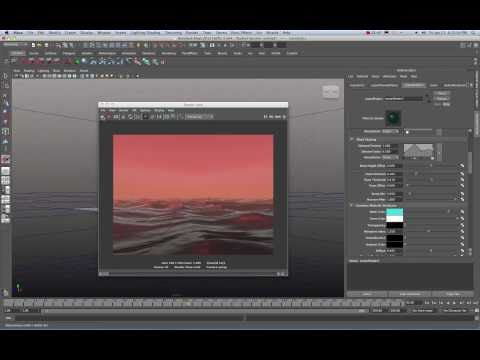 Maya 2011 Stormy Seas Ocean Shader Tutorial by Stuart Christensen