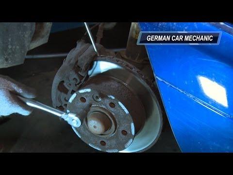 (MERCEDES SPRINTER) Замена тормозных колодок и дисков. How to Replace Disc Brakes.