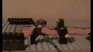 getlinkyoutube.com-Anakin Skywalker and Luke Skywalker vs. Darth Maul and Savage Opress