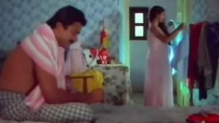 Malayalam Serial Aunty Hot | Transparent Nighty Show